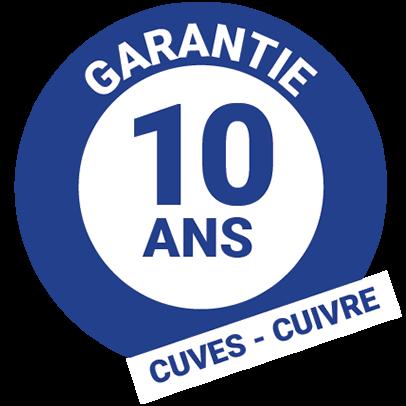 Garantie 10 ans cuivre