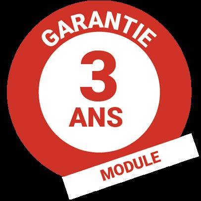 Garantie 3ans module